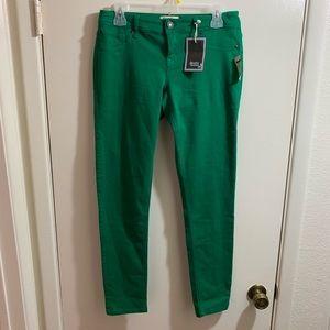 Scarlett Boulevard green jeans